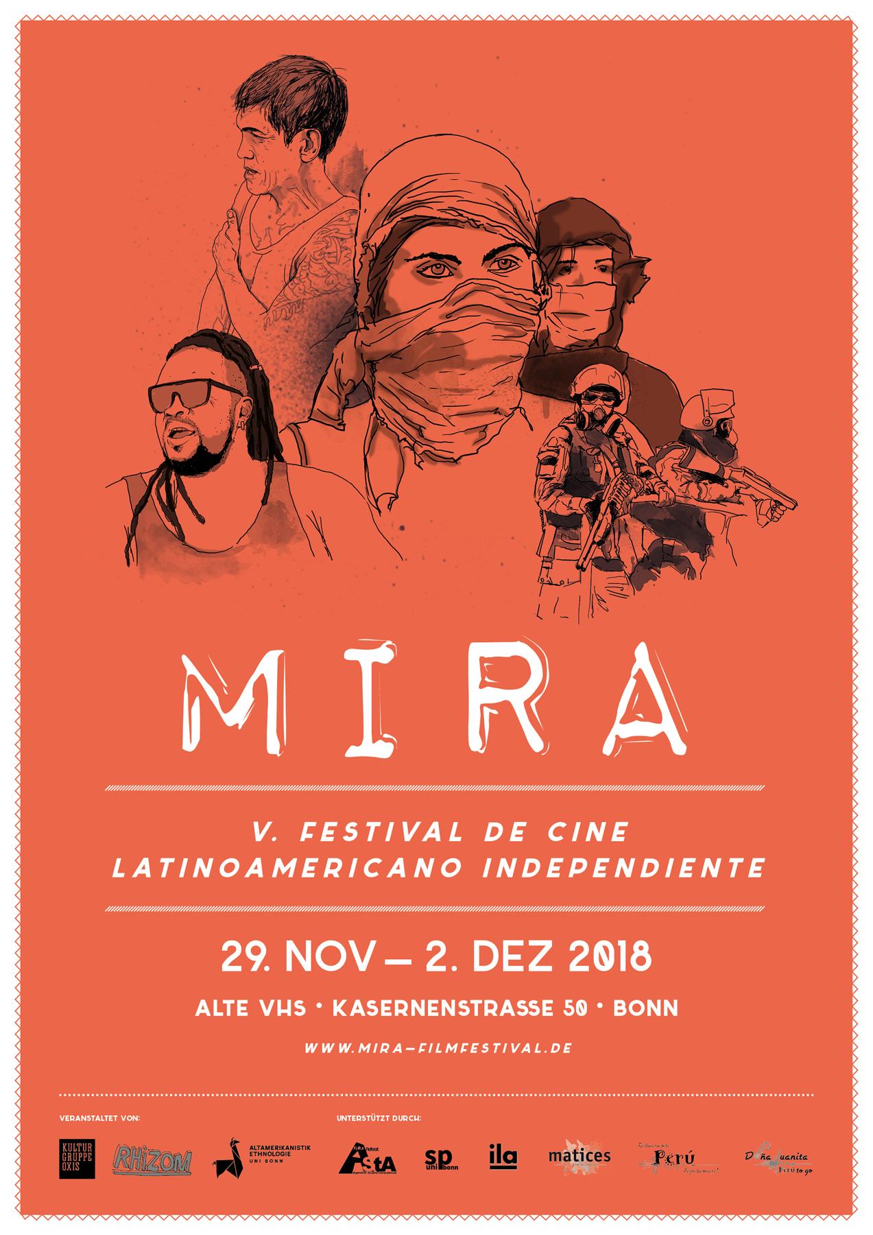 MIRA V. - Plakat